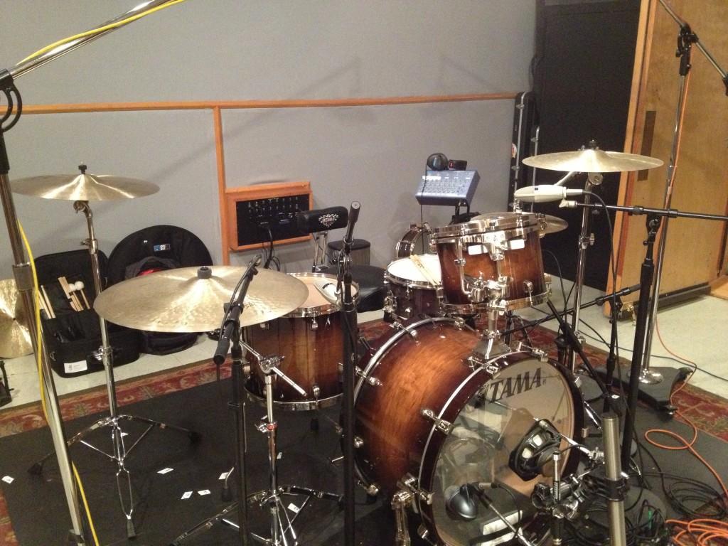 DA @ Simon Phillips studio (15.08.13) 2