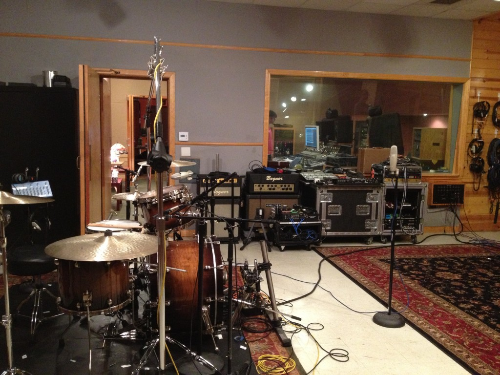 DA @ Simon Phillips studio (15.08.13) 3