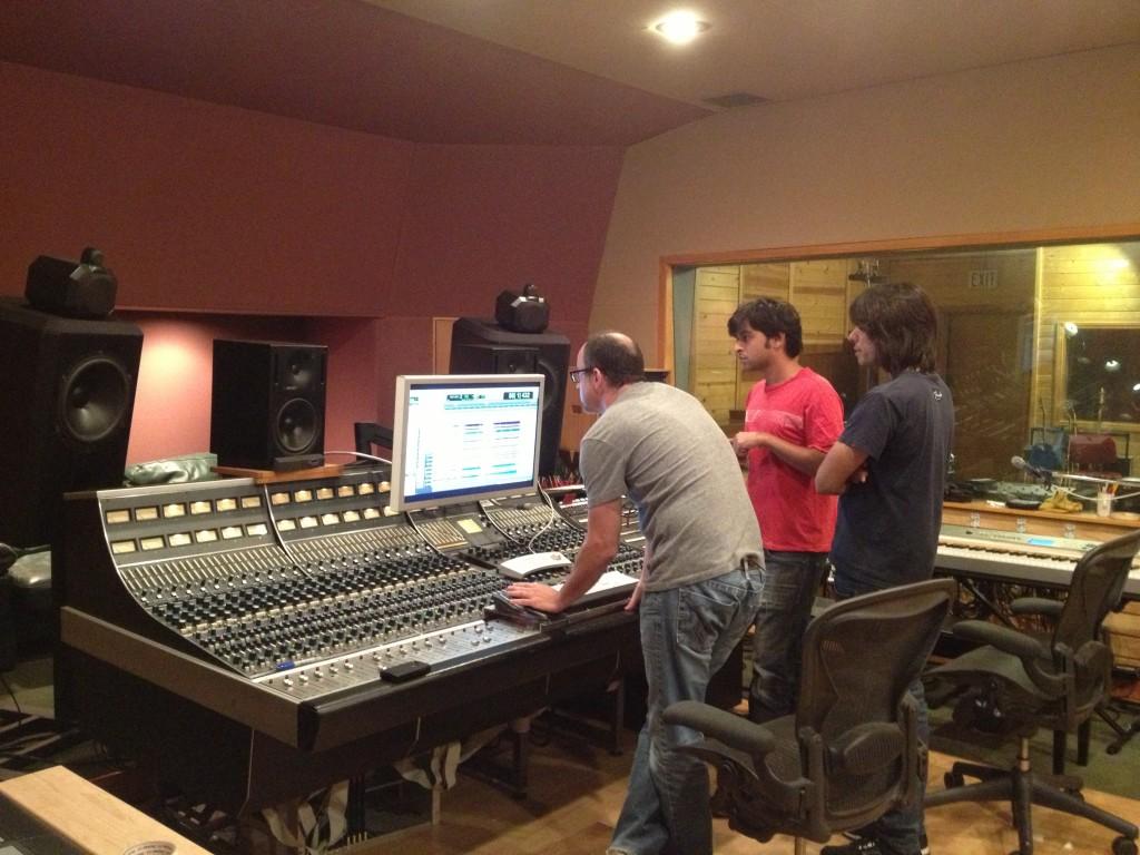 DA @ Simon Phillips studio (15.08.13) 4