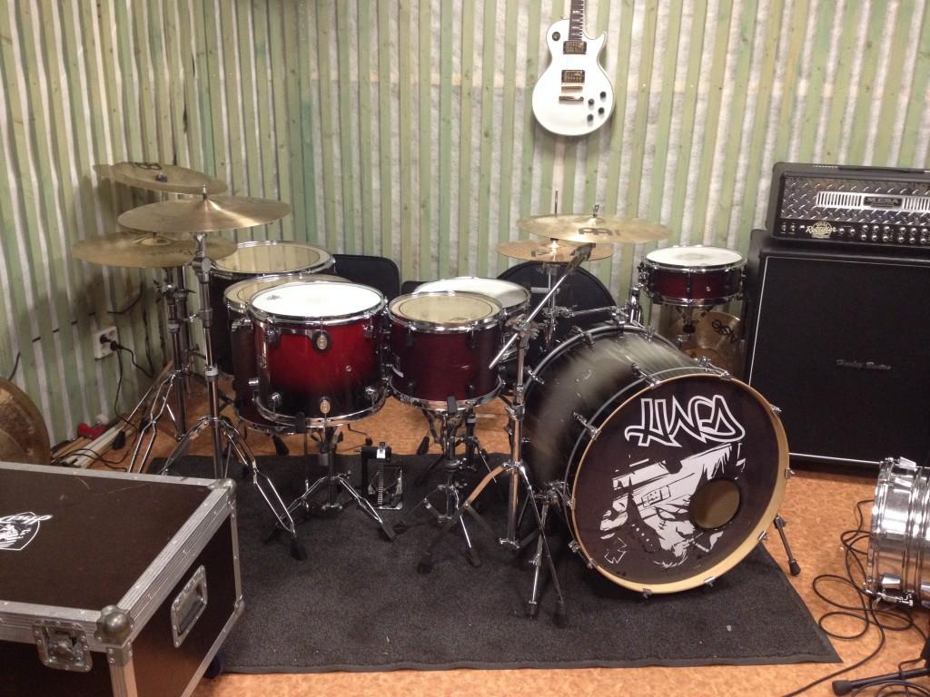 Frankenstein drumset 2