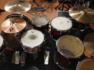Frankenstein drumset 6