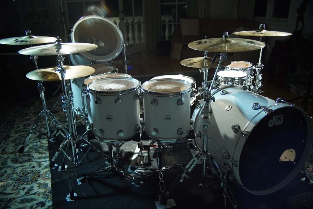 Introducing The Beautiful Monster Aka My New Drum Set